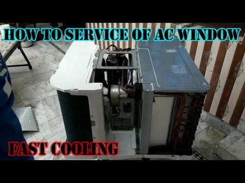 How to Window Air Conditioner service onida and another 2017