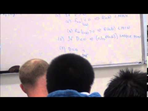 Critical Point from Undefined Partial Derivative
