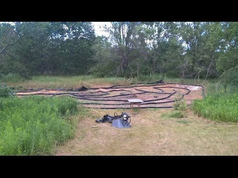 My DIY RC Outdoor Dirt Race Track