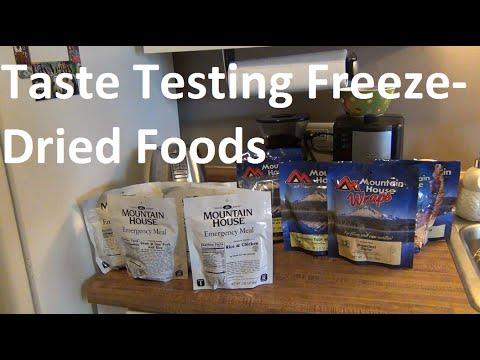 Survival Food - Taste Testing Mountain House Meals!