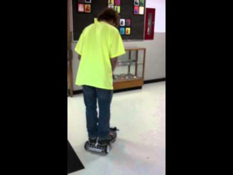 Tetrix Robot Scooter