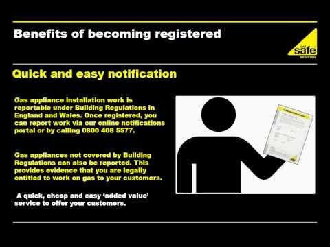 Becoming a Gas Safe registered engineer -- Registration and Benefits