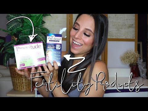 PRODUCTS WE USED TO GET PREGNANT | PRESEED, PREGNITUDE, & MORE | TTC TIPS