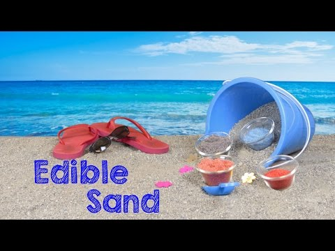 Crafts For Kids: How To Make Edible Colored Sand - KidPep Crafts & DIY