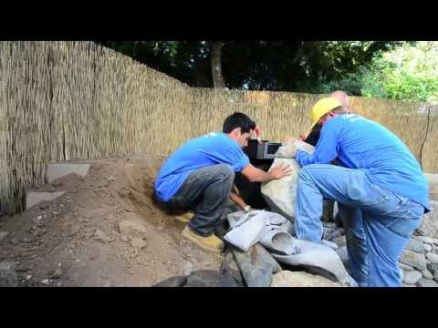 How to build a Fish Pond - Part 12 | Waterfall Construction (1 of 4)
