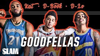 D'Angelo Russell, Devin Booker & Karl Towns GO WAY BACK | SLAM Cover Shoots
