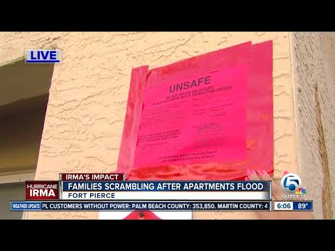 Residents of Sabal Chase Apartments in Fort Pierce have 48 hours to evacuate