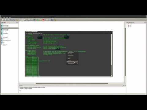 GNS3 Multiple Terminal Tabs using Linux / Ubuntu
