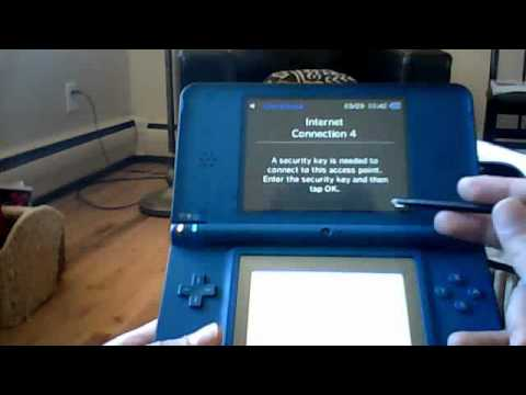 How to connect to wifi on your DSi!