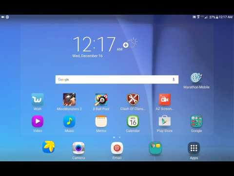 How to take a screenshot of your tablet!
