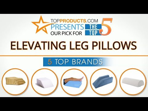 Best Elevating Leg Pillow Reviews 2017 -  How to choose the Best Elevating Leg Pillow