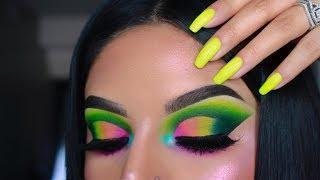Neon Dream| Colourful Cut Crease| Daimier