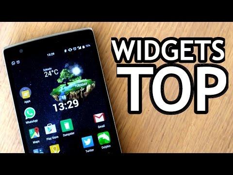 Los mejores WIDGETS para Android - 2015