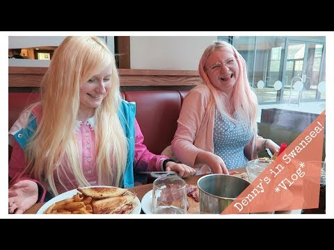 We went all the way to Swansea to go to Denny's! *Vlog*