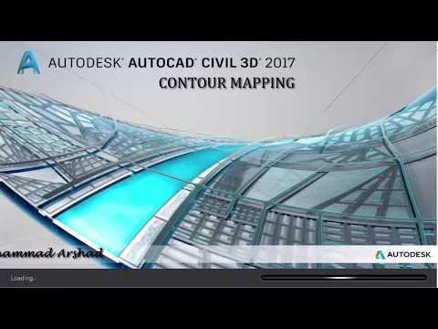 Contour Mapping Using AutoCAD Civil 3D