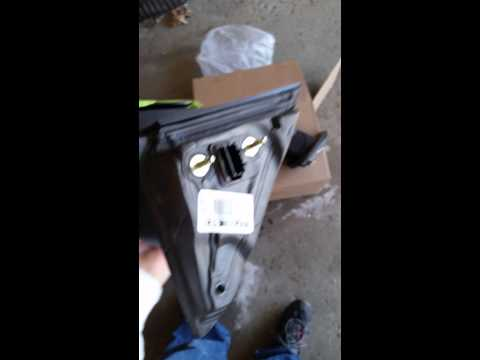 How to change driver side mirror on 2014 Ford Flex