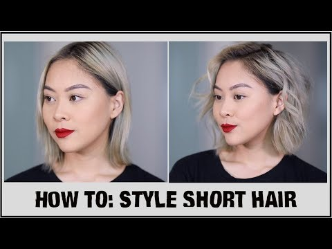 How To: Curl Short Hair (Without Shortening Length) | JLINHH