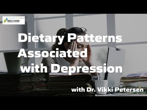Dietary Patterns Associated with Depression