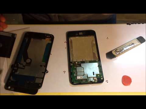 HTC desire 816 sostituzione lcd display repair touch screen (whit frame)