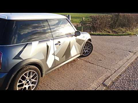 Mini Cooper S Modified 240HP R53 Acceleration and Exhaust Sound