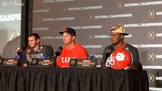 Dabo Swinney: Clemson over Alabama was not an upset