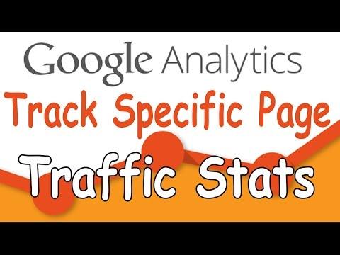 Google Analytics - Track Traffic Stats Of Specific Page Using Customg Segment