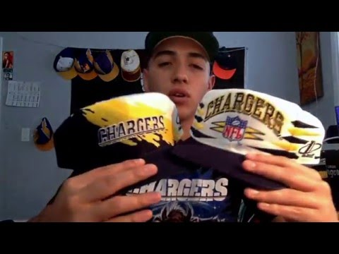 pjmont3's vintage SAN DIEGO CHARGERS snapback collection!
