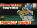 Kamek Perfect Bonus - Paper Mario: Color Splash