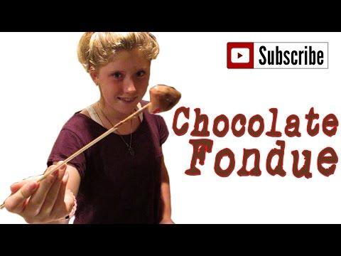 Easy Chocolate Fondue - How to Make The Easiest Way