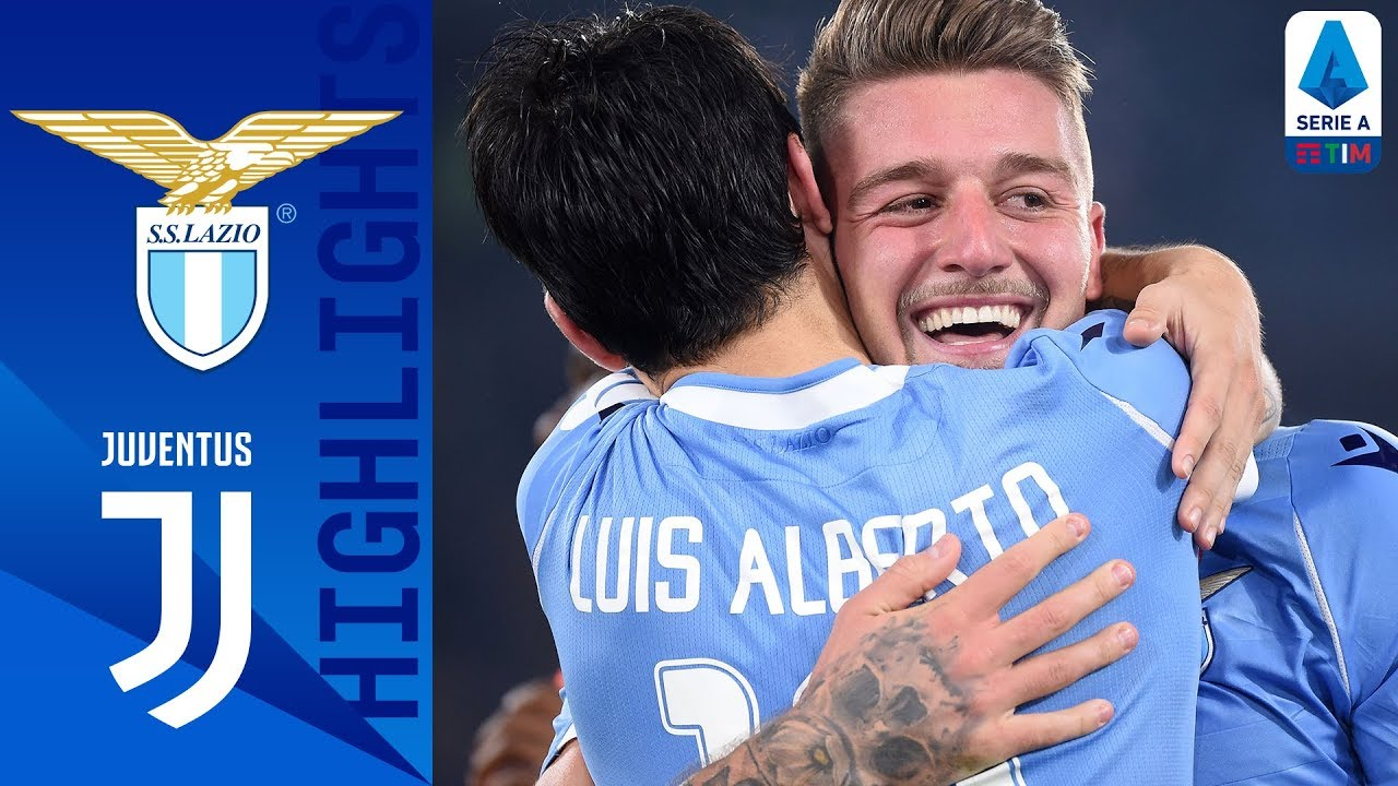 Lazio 3-1 Juventus   Lazio Shock Juve with 3-Goal Comeback after CR7 Opener!   Serie A
