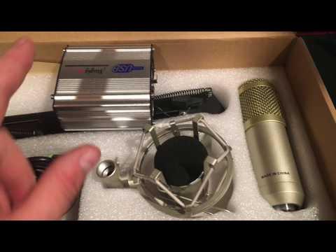 Mugig Microphone and USB Phantom Power Supply