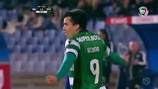 Golo de Marcos Acuña: Belenenses 1-(3) Sporting (Liga 30ªJ)