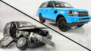 Restoration and Customization Damaged Range Rover - SuperCar Range Rover Sport Model Car Restoration