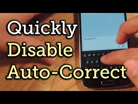 Quickly Toggle Auto-Correct Suggestions with a Double-Tap - Swype & Google Keyboard [How-To]