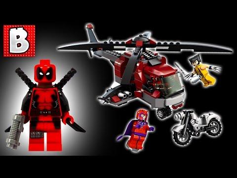 Lego Deadpool! - Wolverine's Chopper Showdown Set 6866 | Unbox Build Time Lapse Review