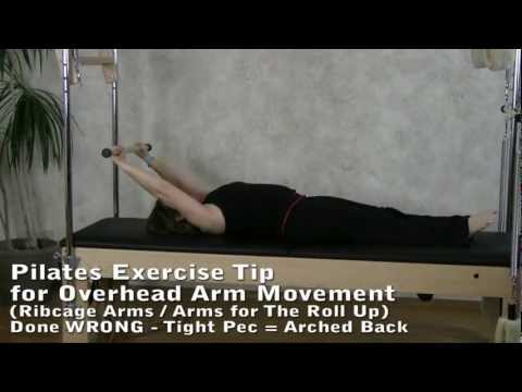 Exercise Tip for Pain-Free Arms & Shoulders on Overhead Arm Exercises