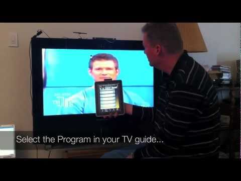 iWavit TV Aid:  Turn your iPhone into a 2-in-1 TV Listing and Universal IR Remote
