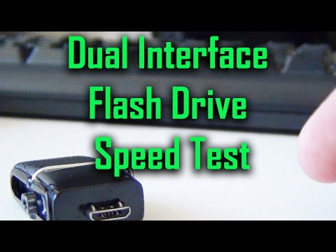 Unique Flash Drive (Micro USB and USB 3.0 interfaces) [Speed test]