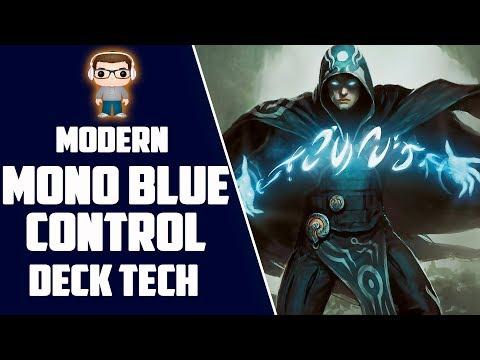 Mono Blue Control Deck Tech - MTG Modern - Blue Mages Rejoice!!