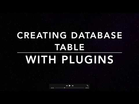 Create Wordpress Database Using Plugins Step 1