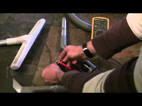 How to fix a central vacuum cleaner hose