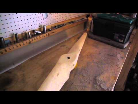 How to Duplicate a Wooden Propeller Step 3