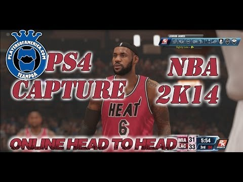 PS4 || NBA 2k14 || Online Quick Match