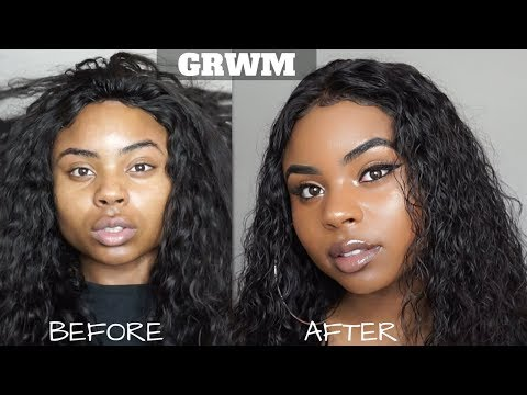 GRWM   LIFE AFTER COLLEGE & ALIEXPRESS LEMODA HAIR REVIEW [AFORDABLE BRAZILIAN CURLY HAIR]