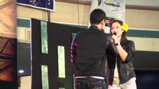 Coco Martin And Maja Salvador In Dagupan