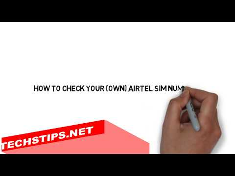 How to Check Your own airtel sim number