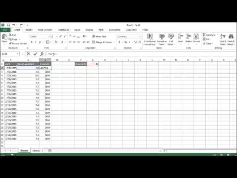 Excel Tutorial 19 of 25 - Using Absolute Reference (Fixed Reference)