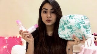 Travel haircare and skincare essentials    How I pack my skincare and haircare stuff!