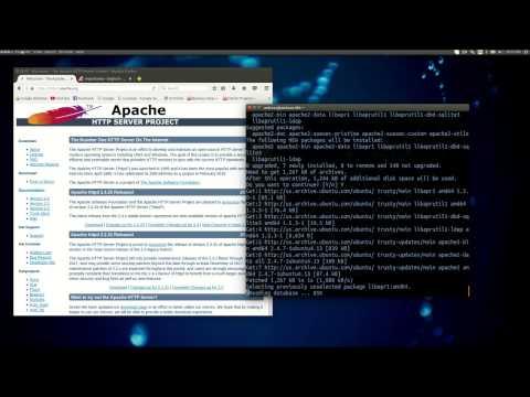 Install Apache Server on Linux - Ubuntu
