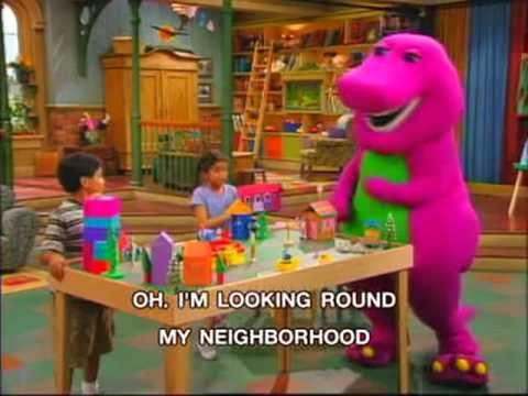 Barney - My Neighborhood Song